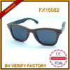 Hottest Fashionable Polariod Wholesale Zebra Wood Sunglasses Fx15082