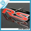 Hot 3D Red RS Metal Emblem Decal Badge