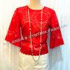 Fashion Lace Top/Women' Clothes/Lady Clothes/Women Lace Blouse