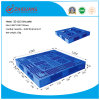 1200*1200*150mm HDPE Plastic Tray Grid 4-Way Sigle Faced Plastic Pallet Dynamic 1t for Warehouse Storage Products (ZG-1212)