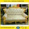 Modern Royal Sofa for Wedding Love Seat Bride and Groom Chair