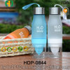 Popular Customized Plastic Fruit Infusion Water Bottle, 650ml Tritan Fruit Infuser Bottle (HDP-0844)