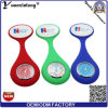 Yxl-945 Attractive New Nurses Doctor Fob Watch Brooches Silicone Tunic Batteries Medical Nurse Watch