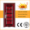 Top Design Sales Economic 5 Panel Steel Door Design (SC-S064)