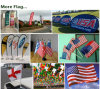 Portable Folding Pop up A-Frame Outdoor Sports/Event/Advertising/Exhibition/Tradeshow Display Flag Banner