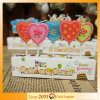 Heart Shaped Design Print Candle