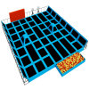 Vasia Cheer Amusement Children Indoor Soft Playground Trampoline