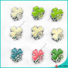 Lucky Clover Slider Charms for DIY Bracelet (SC16040948)