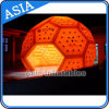 Portable and Waterproof High Party Inflatable Tent, LED Football Shape Inflatable Tent