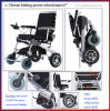 Golden Motor 8′′, 10′′, 12′′ E-Throne Reclining Small Lightweight Hadicapped Power Electric Wheelchair for Disabled People