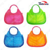 Designer Transparent PVC Tote Hand Beach Bags for Ladies and Girls