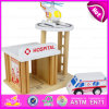2016 Brand New Wooden Car Park Toy, Wooden Car Park Toy, Pretend Play Wooden Car Park Toy, Wooden Car Toy for Baby W04b029