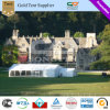 Second Hand Big Tent House with ABS Solid Wall and Ceiling Linings and Chandelier