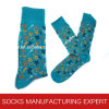 Custom Designed Cotton Man Socks