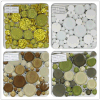 300X300mm New Style Gold Glass Irregular Mosaic for Building (VMG1022)