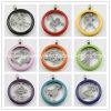 Fashion Stainless Steel Colorful Coin Locket Pendant