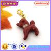 Cute Enamel Red Dog Charm Pendant