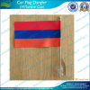 Mini Sucker Magnetic Car Window Flag with Suction Base (J-NF24F03006)