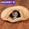 Paw Pattern Soft Cat Sleeping Bag Cat Cave Bed