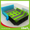 Liben Wholesale Foam Pit Indoor Rectangle Trampoline