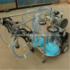 Farm Cow Milking Machine Price with Transparent Milking Buckets