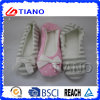 Side Seam Woolen Winter Warm Women Indoor Clogs (TNK20292)