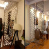 Custom Design Project Metal Screen Lasercut Room Divider in Dining Room