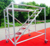 Lightweight Aluminum/Metal Main Scaffold Frame Used in Construction