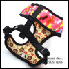 Custom Fashion Print Comfortable Mesh Pet Dog Harness