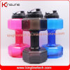 2.2L dumbbell shape shaker bottle gym fitness sport water bottle (KL-8050)