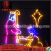 LED Lighting Christmas Light Nativity Manger Scene Luces De Navidad Outdoor Decoracion