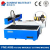 Five Axis Stone Waterjet Cutting Machine for Parquet