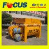 Construction Equipment Js1500 Beton Mixer, Twin Shaft Concrete Mixer