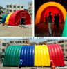 Inflatable Colorful Rainbow Tunnel Tent with Blower (BMTT78)
