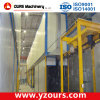 Powder Coating Machine with Small Cyclone Recovery System