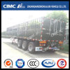 Cimc Huajun Tri-Axles Stake Semi Trailer with Locks on Rear