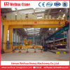 Industry Equipment Euro-Style Semi Gantry Crane of Trackless Design