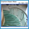 10-12mm Toughened Laminated Glass for Balustrade / Fencing
