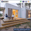 Easy Assembled Prefabricated Steel Frame Container Home with Living Room