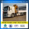 Sinotruk Dump Truck with Crane