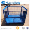 Heavy Duty Warehouse Folding Storage Mesh Stillage for Auto Industry