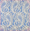 Stretch Nylon Lace Fabric/Cord Lace Fabric (1072)
