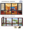 108series Aluminum Clad Wood Window with Fine Steel Mosquito Fly Screen