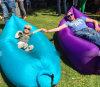 Portable Camping Lounger Sofa Inflatable Sleeping Bag Beach Hangout Lazy Air Bed Sofa
