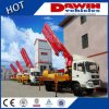 New Station Truck Concrete Pump Boom Concret Delivery Pump Car Truck Mounted Concrete Boom Pump Sinotruck Chassis