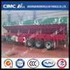 Cimc Huajun Cargo Tipper with 5 Lifting Cylinder and 1 Self-Saving Cylinder