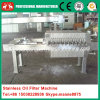 Small Stainless Plate and Frame Cooking Oil Filter Machine