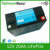 LiFePO4 Battery 12V 20ah for Solar Street Light, UPS