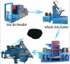 Tire Recycling Product Line Rubber Fiber Separator Recycled Tire Fibers