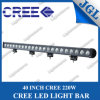 "High Power 220W 40"" CREE LED Driving Light Bar, Spot/Flood Single Row LED Driving Lights, CREE Work Light LED Shockproof"